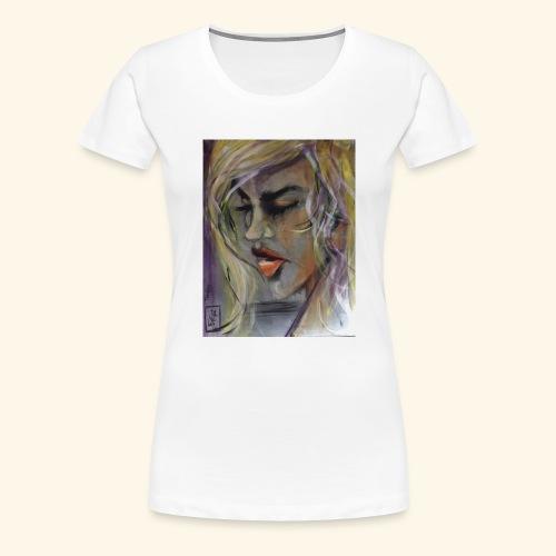20160831 070257000 iOS Tänker - Premium-T-shirt dam