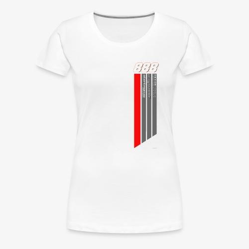 888 heartlines - Premium-T-shirt dam