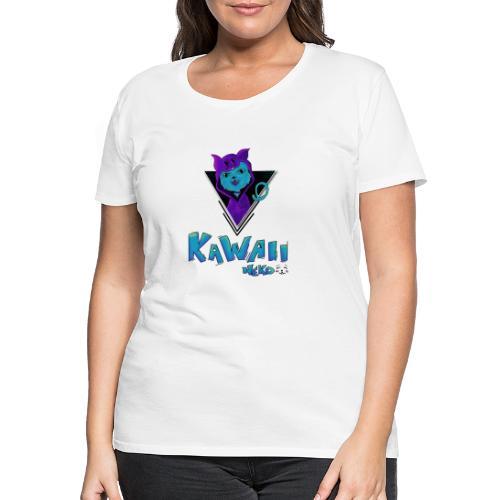Neko Kawaii - Camiseta premium mujer