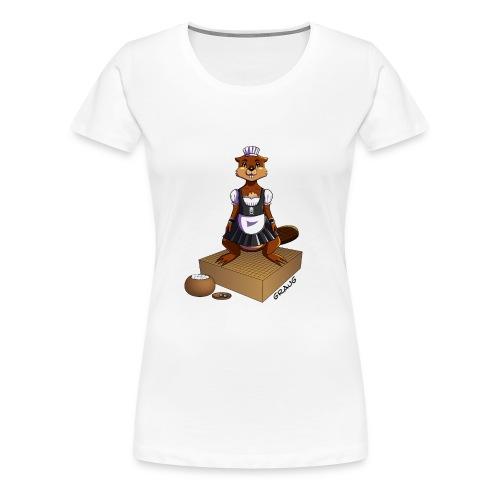 Pimp my Nuki - maid - T-shirt Premium Femme