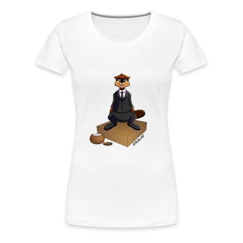 Pim my Nuki - Men In Black - T-shirt Premium Femme