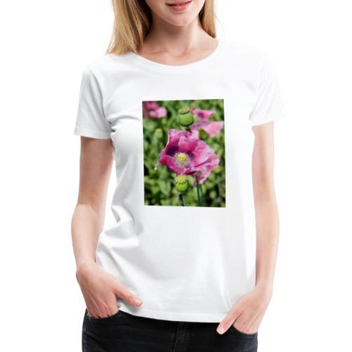 Mohnblüte - Frauen Premium T-Shirt