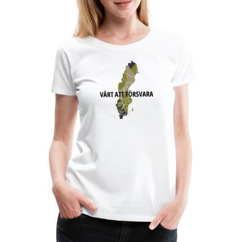 SWE M90 - Premium-T-shirt dam