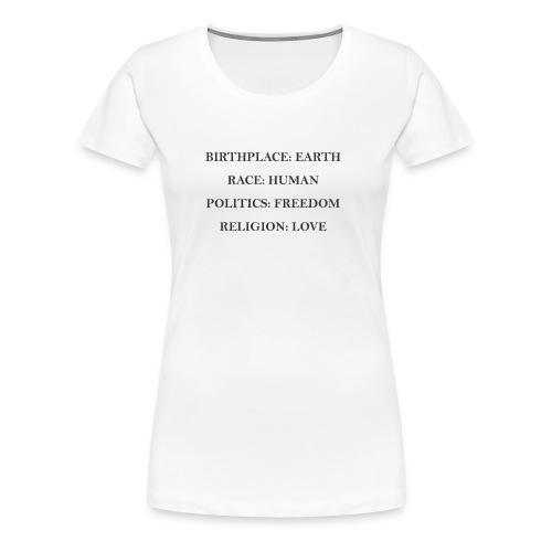 humanrace - Women's Premium T-Shirt