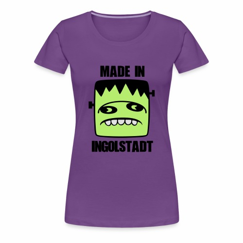 Fonster made in Ingolstadt - Frauen Premium T-Shirt