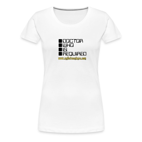 dwisrequired - Women's Premium T-Shirt
