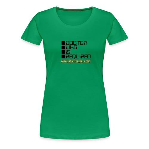 dwisrequired - Women's Premium T-Shirt