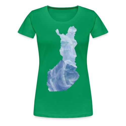 Suomi Finland - Naisten premium t-paita