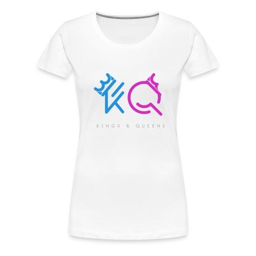 Koning & Koninginnen - Vrouwen Premium T-shirt