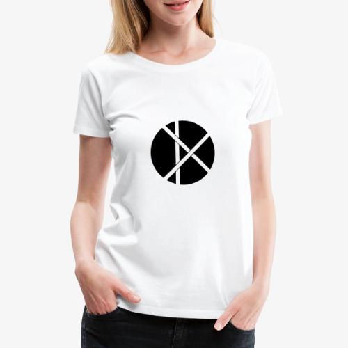 Don Logo - musta - Naisten premium t-paita