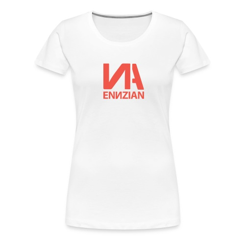 Logo & Schriftzug - Frauen Premium T-Shirt