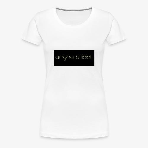 amgha_official_ - Frauen Premium T-Shirt