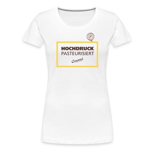 cruemel hochdruck - Frauen Premium T-Shirt