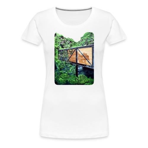 by Eamon O'Kane - Dame premium T-shirt