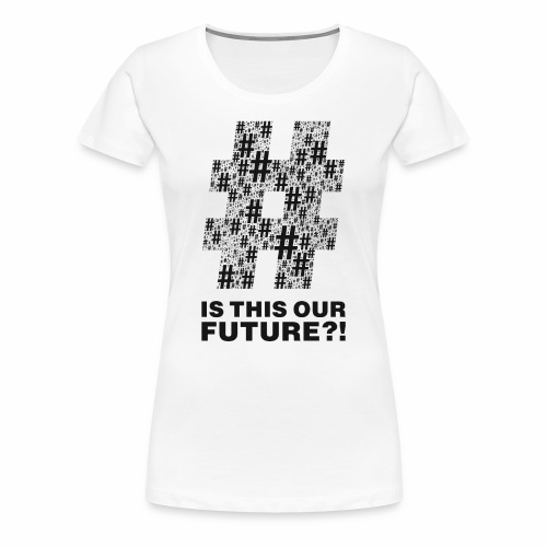Question or statement?! black by camaleon_design - Frauen Premium T-Shirt