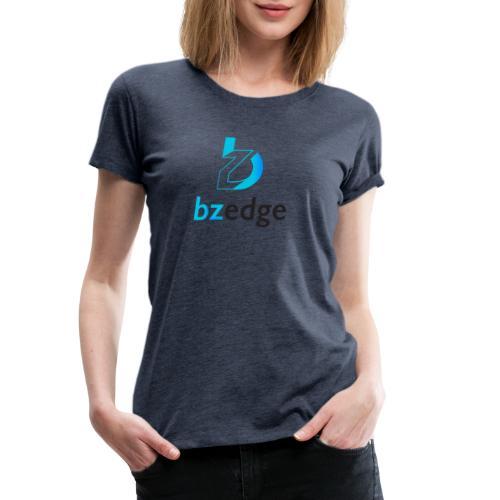 BZEdge Cutting Edge Crypto - Women's Premium T-Shirt