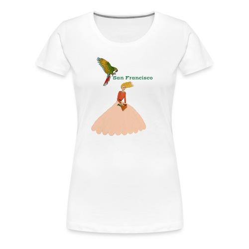 San Francisco - Premium-T-shirt dam