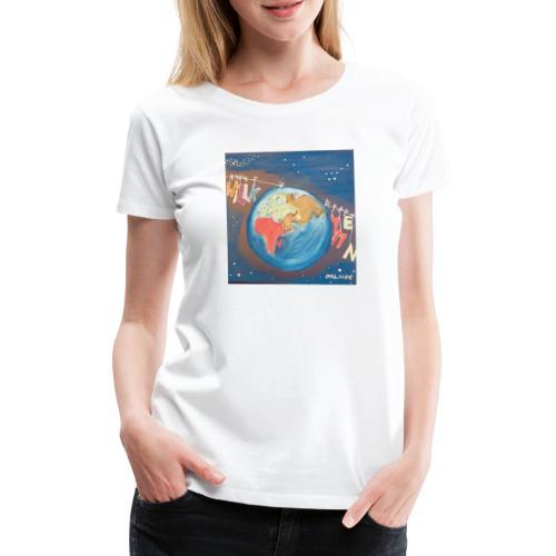 Willkommen - Frauen Premium T-Shirt