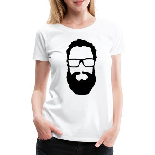 Dennis Svart - Premium-T-shirt dam