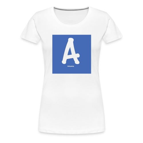 logo pet - Vrouwen Premium T-shirt