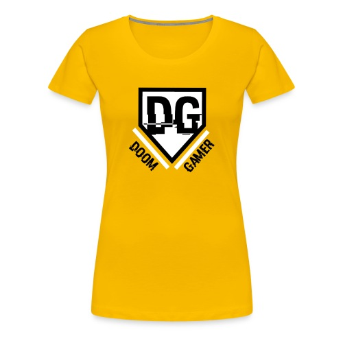 Doomgamer's muismat - Vrouwen Premium T-shirt