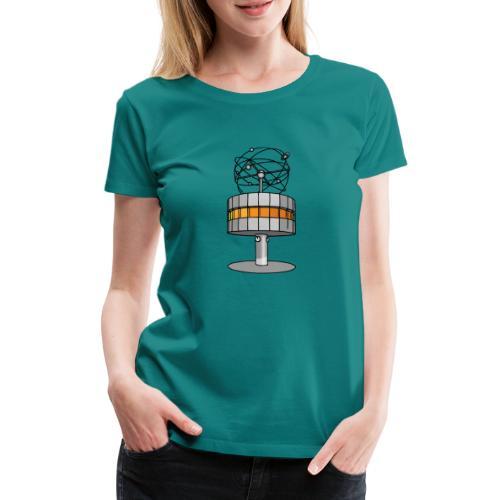 Weltzeituhr BERLIN c - Frauen Premium T-Shirt