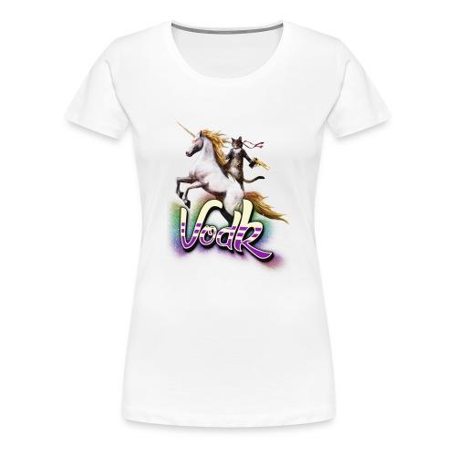 VodK licorne png - T-shirt Premium Femme