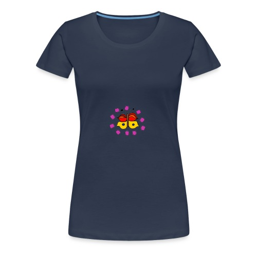 Butterfly colorful - Women's Premium T-Shirt