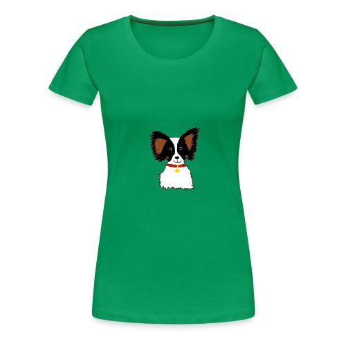 Papillon dog - Women's Premium T-Shirt
