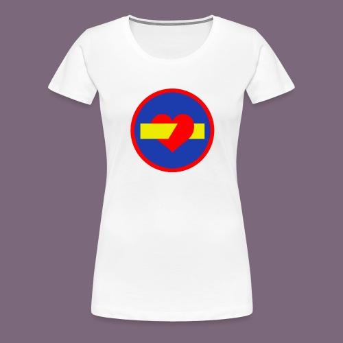 rakkauden ajosuunta - Naisten premium t-paita