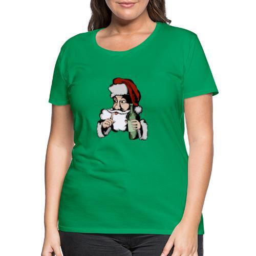 Père Noël Arrive - Santa is coming - T-shirt Premium Femme