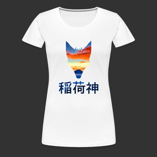 Inari Fox (Fuji Edition) - T-shirt Premium Femme
