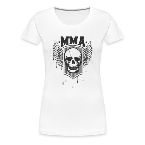 MMA TETE DE MORT - T-shirt Premium Femme