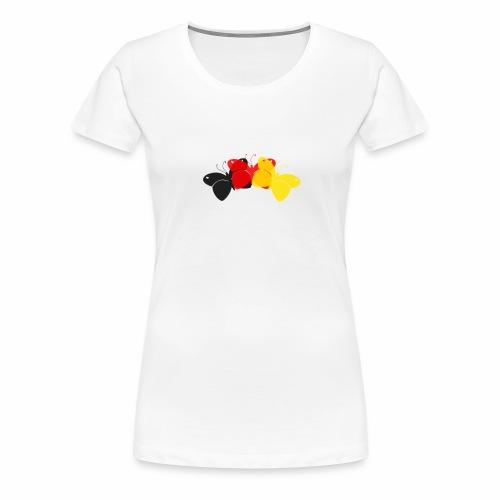 Deutschland Schmetterlinge - Frauen Premium T-Shirt
