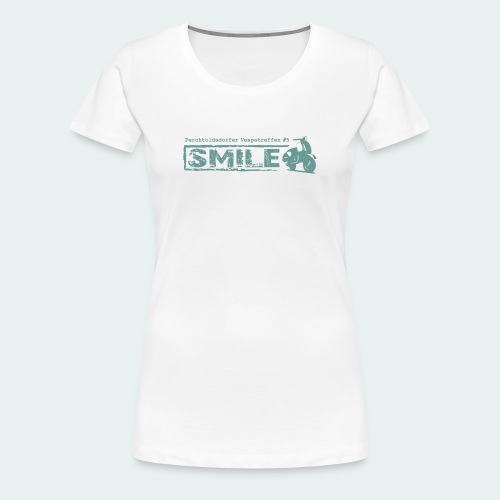 SMILE-Shirt 2018 - Frauen Premium T-Shirt