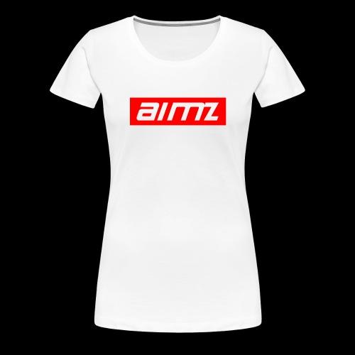 Aimz roter Stil - Frauen Premium T-Shirt