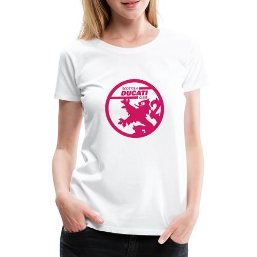 scd logo mono - Women's Premium T-Shirt