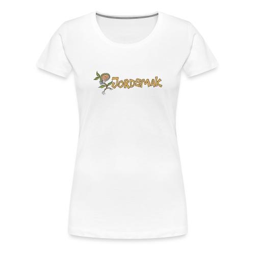 JORDSMAK - Premium-T-shirt dam
