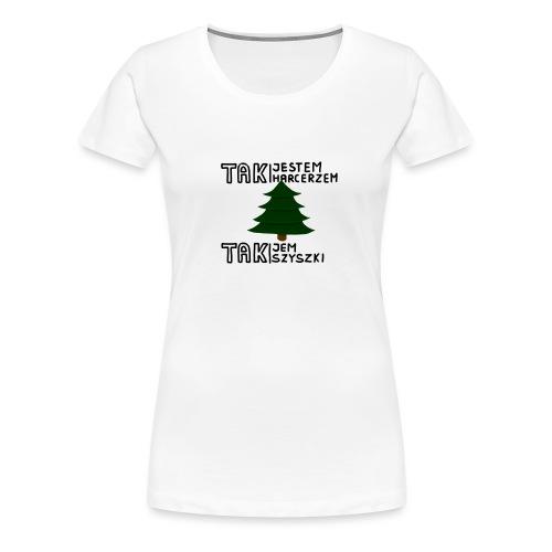 Szyszunie - Wzór dla Harcerzy i nie tylko - Koszulka damska Premium