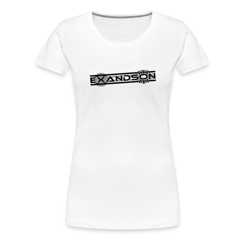 Exandson White - Frauen Premium T-Shirt