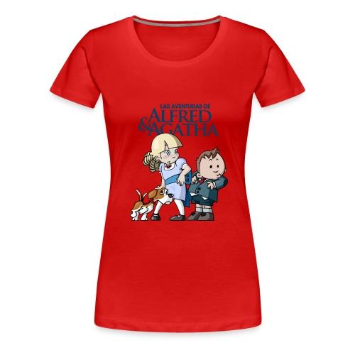 alfredagatha1 - Camiseta premium mujer
