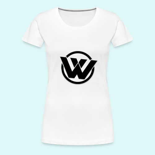 WAVE LOGO BLACK - Women's Premium T-Shirt
