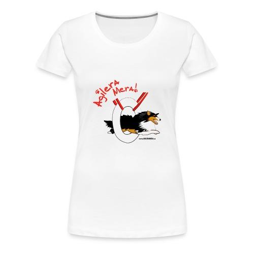 agilera sheltie1 - Premium-T-shirt dam