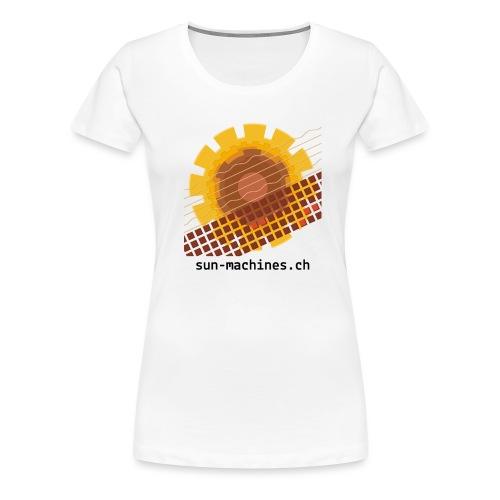 sunmachines logo text transparent png - Frauen Premium T-Shirt