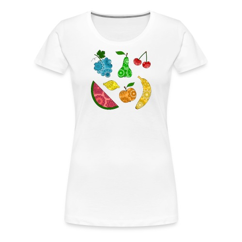 Obstsalat - Frauen Premium T-Shirt