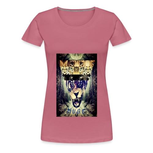 HUGETIGER png - Vrouwen Premium T-shirt