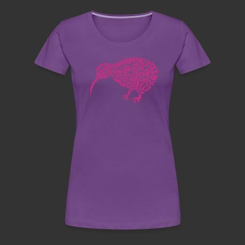 Kiwi Maori - Frauen Premium T-Shirt