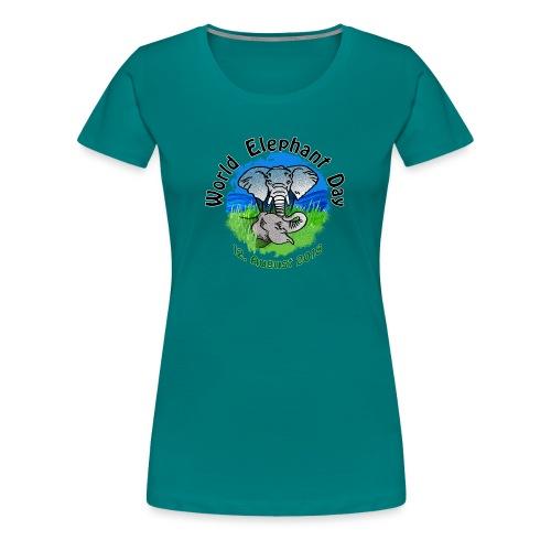 World Elephant Day 2018 - Frauen Premium T-Shirt