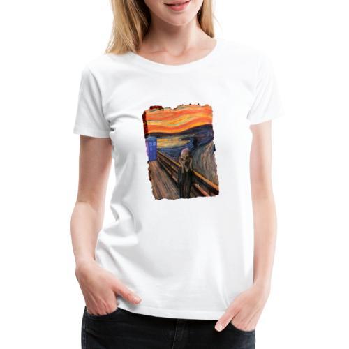 Screaming Tardis - Women's Premium T-Shirt