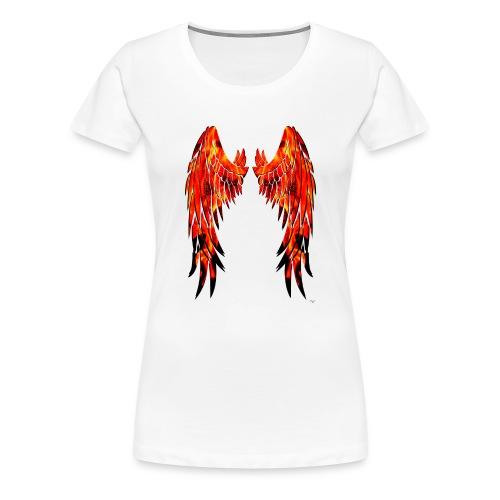 Fire wings - Camiseta premium mujer